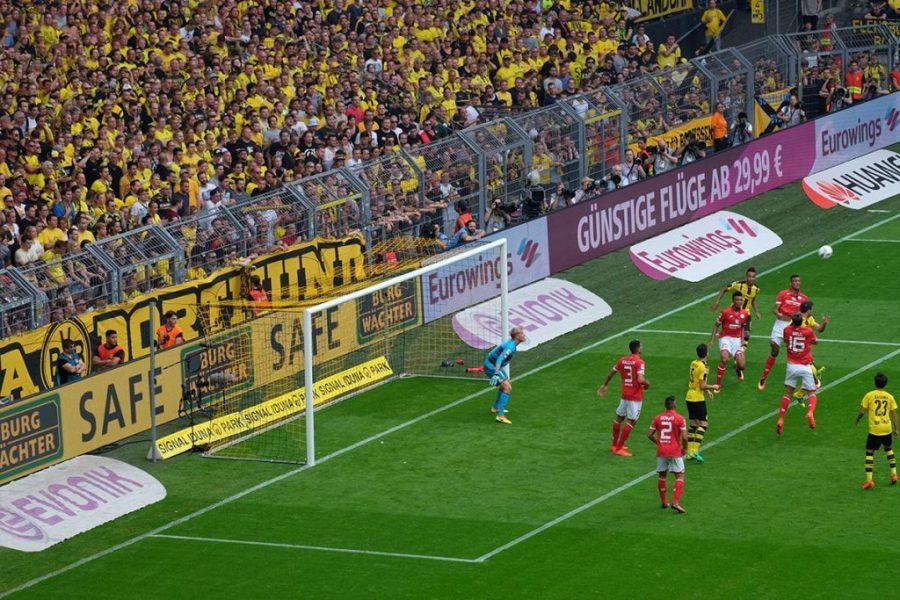 Auf die Borussia.