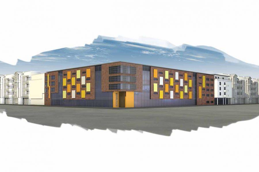 DOGEWO21 Unioncarré 3D-Visualisierung